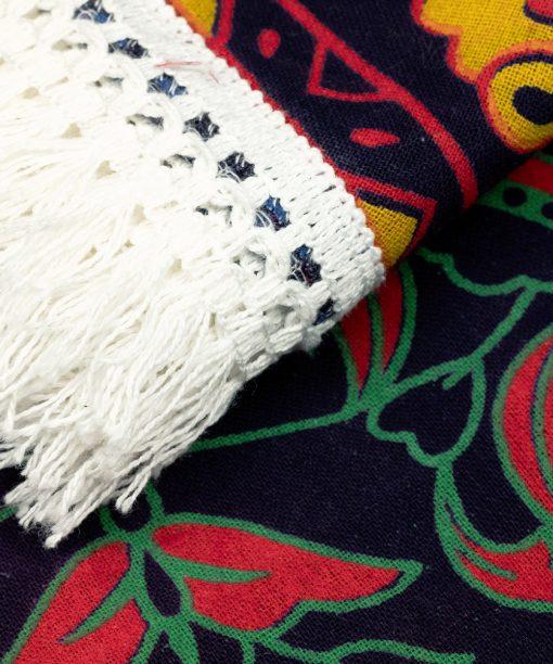 Multicolor Mandala in Nahaufnahme