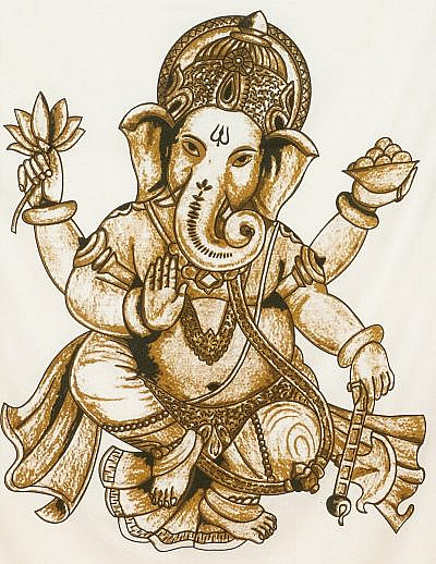 Lord Ganesha im Detail