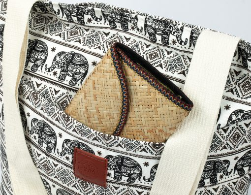 Canvas Shopper von T-Bags Thailand