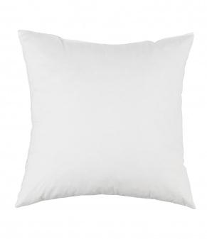 Kissenfüllung 45x45 cm weiß mit Daunen