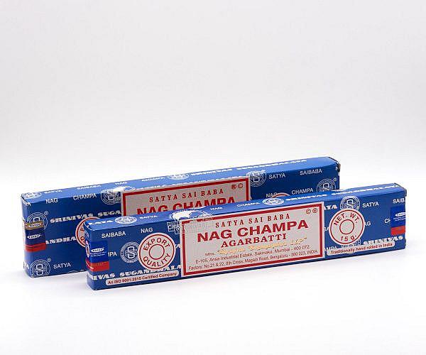 Räucherstäbchen Satya Sai Baba Nag Champa Agarbathi 16g und 40g
