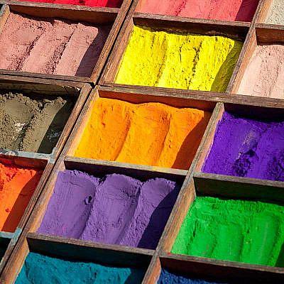 Natürliche Farbstoffe zum Batiken