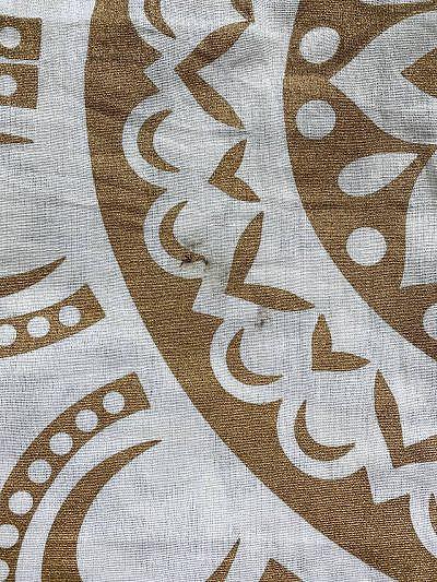 B-Ware Wandtuch mit Öl-Fleck aus Produktion